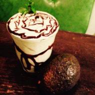 アボカドチョコバナナスムージー 750円